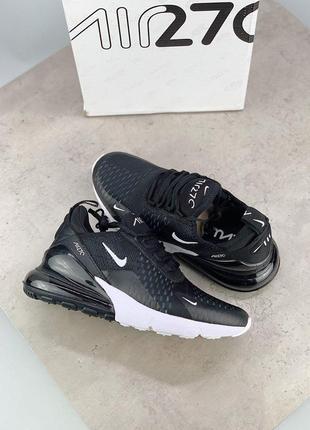 Шикарные кроссовки nike air max 270 black 😍 (весна/ лето/ осень), (женские/ мужские)8