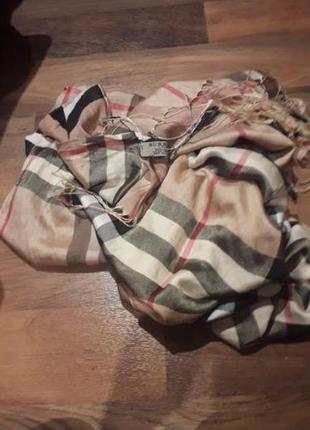 Палантин шарф burberry
