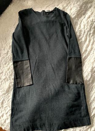 Базовое трикотажное платье оверсайз cos р.s2