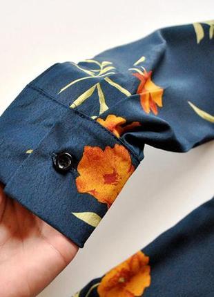 Блуза с цветочным принтом! рвзмер s.10