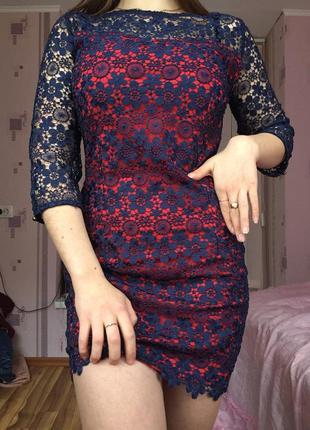 Шикарное платье с дорогого кружева1