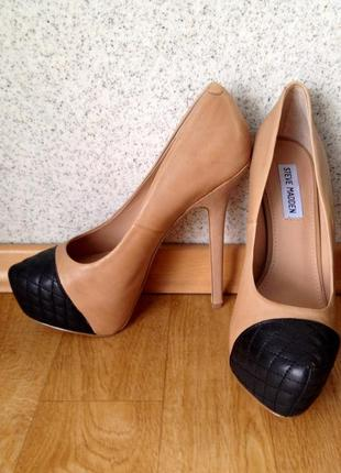Нереально крутые туфли от steve madden, 100% кожа!!1