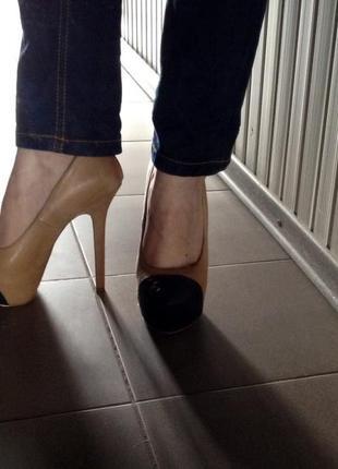 Нереально крутые туфли от steve madden, 100% кожа!!2