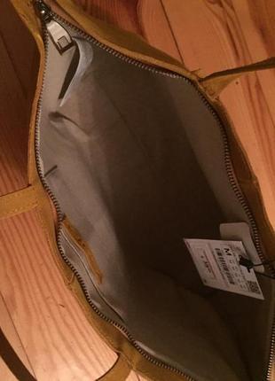 Кожаная сумка zara5