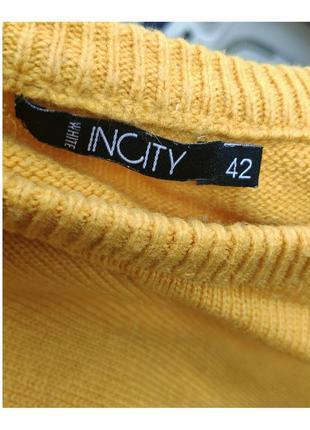 Яркий теплый свитерок2