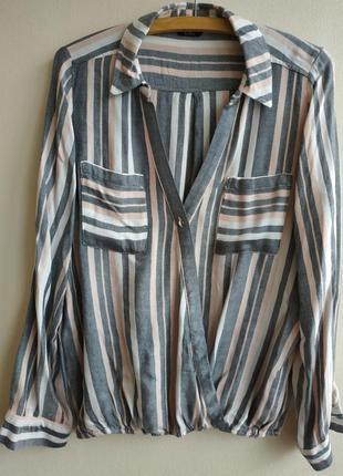 Блузка свободного кроя f&f