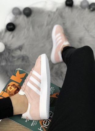 Шикарные женские кроссовки adidas gazelle pink 😍 (весна/ лето/ осень)4