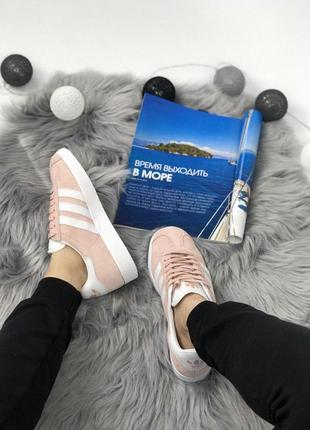 Шикарные женские кроссовки adidas gazelle pink 😍 (весна/ лето/ осень)10
