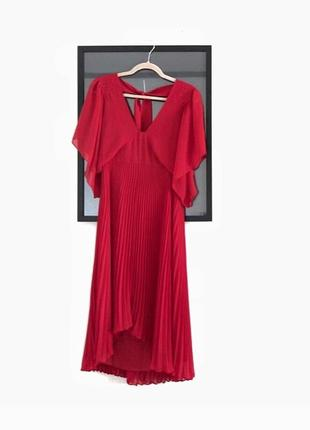Алое платье премиум бренда club monaco ralph lauren8