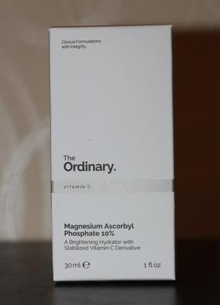 Magnesium ascorbyl phosphate 10% the ordinary сыворотка для лица с витамином с2