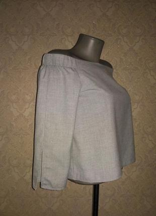 Шикарная блуза со спущенными плечами от zara2