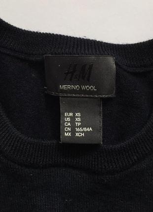 H&m свитер шерсть мериноса2