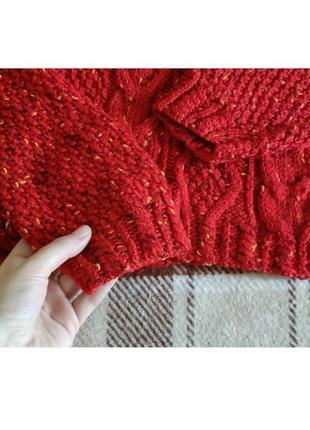 Укороченный яркий свитерок от h&m3