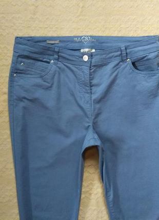 Стильные коттоновые штаны брюки canda, 16 размер.4