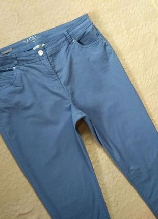 Стильные коттоновые штаны брюки canda, 16 размер.5