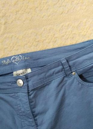 Стильные коттоновые штаны брюки canda, 16 размер.6