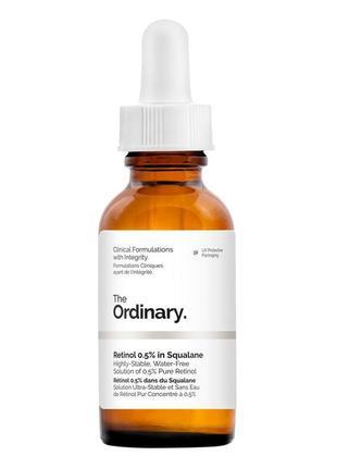 The ordinary retinol 0. 5% in squalane сыворотка с ретинолом1