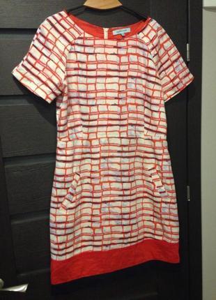 Платье с коттона1