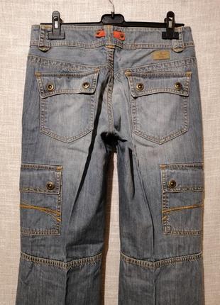 Крутые прямые джинсы карго.1