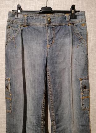 Крутые прямые джинсы карго.2