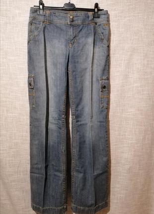 Крутые прямые джинсы карго.3