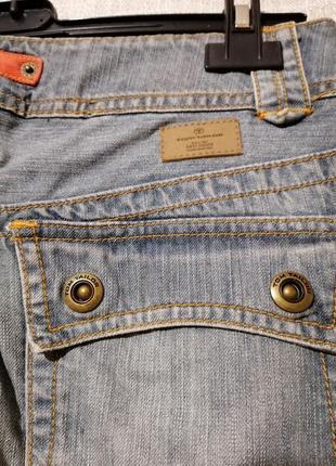 Крутые прямые джинсы карго.6