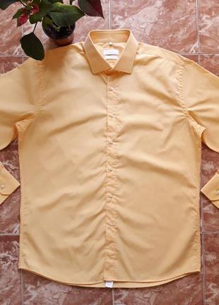 Немецкая рубашка abrams без кармана,xl.