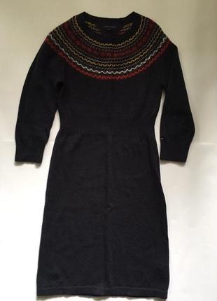 Tommy hilfiger платье шерсть1