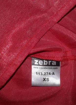 Майка zebra, розового цвета, размер xs, новая3