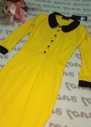 Трикотажное платье р. xs3
