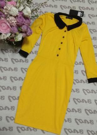 Трикотажное платье р. xs2