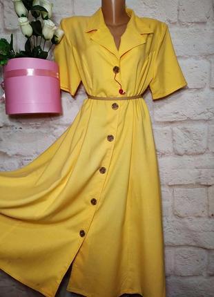 Платье миди новое вискоза  р 16-18 style3