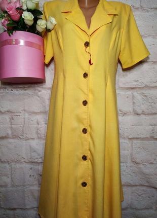Платье миди новое вискоза  р 16-18 style5