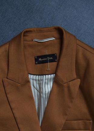 Безупречный стильный пиджак massimo dutti3