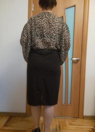 Хорошенькое комбинированное платье большого размера4