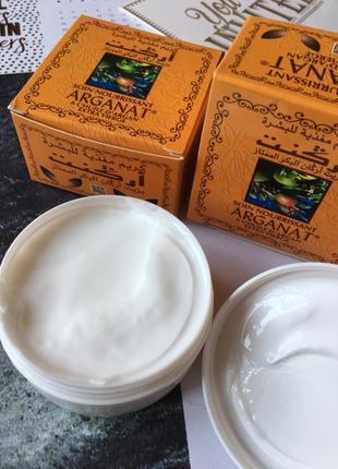 Натуральный крем с аргановым маслом plantil arganat марокко 🇲🇦3