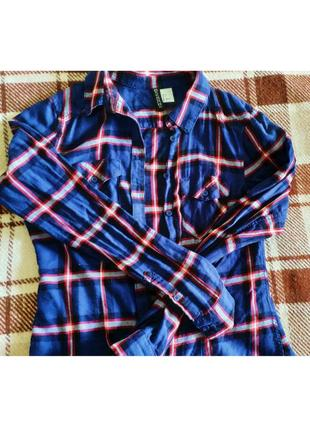 Рубашка в клеточку от h&m2