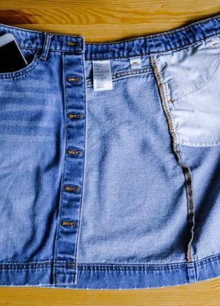 Крутейшая джинсовая юбка5