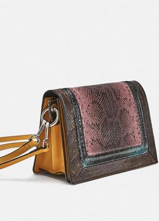 Кожаная сумка zara1