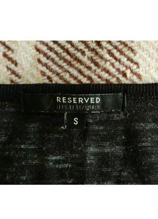 Свитшот от reserved с рукавами в сетку2