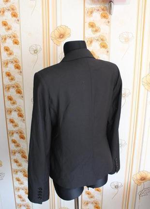 Обнова! блейзер пиджак жакет классика удлиненный качество шерсть в составе новый h&m9