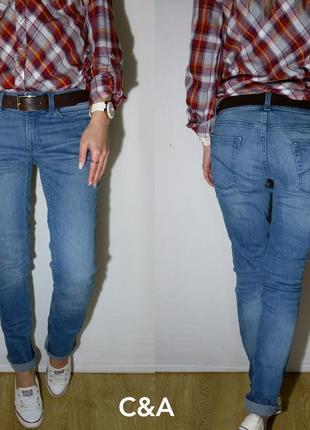 Красивые свободные немецкие джинсы c&a1