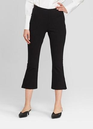 Обнова! тренд брюки штаны укороченные мини клёш качество новые бренд2