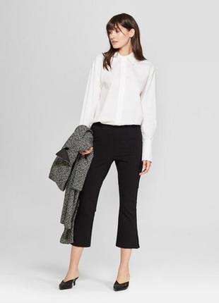 Обнова! тренд брюки штаны укороченные мини клёш качество новые бренд1