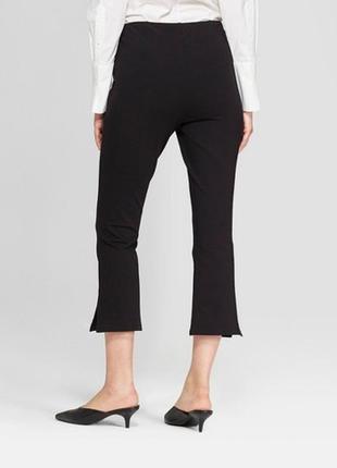 Обнова! тренд брюки штаны укороченные мини клёш качество новые бренд3