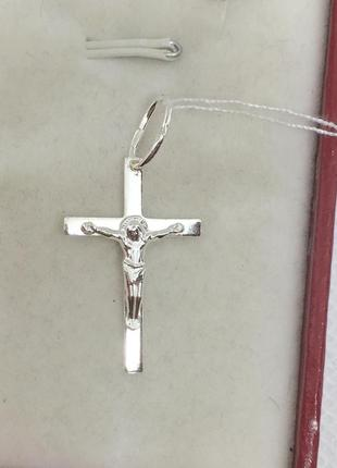 Новый серебряный крестик серебро 925 пробы1