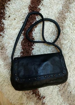 Стильная кожаная сумка на плечо ertuel5