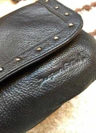 Стильная кожаная сумка на плечо ertuel4