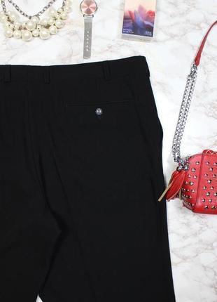 Обнова! брюки штаны классика зауженные укороченные черные новые бренд5