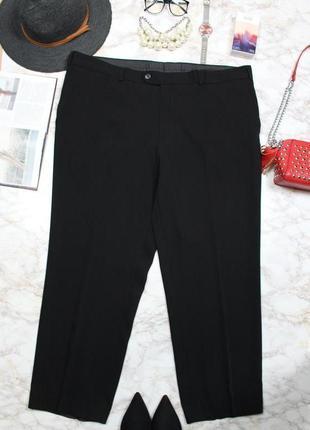 Обнова! брюки штаны классика зауженные укороченные черные новые бренд3